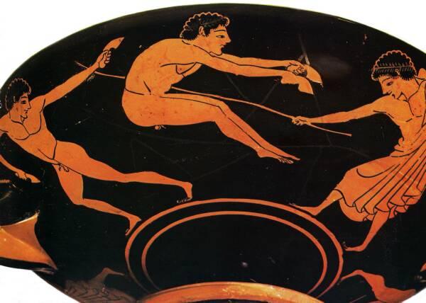 Long Jump Ancient Olympics Gallery