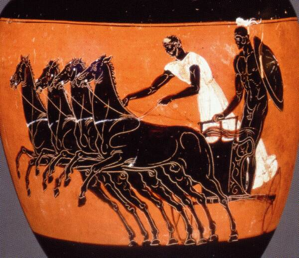 horses in ancient greece Free essay: horses in ancient greece when thinking back to the ancient times, the thought of the great chariot races will inevitably enter a person's mind.